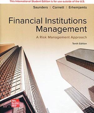 Financial Institutions Management : A Risk Management Approach